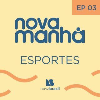 Esportes com Jorge Vinícius - #3 - Panorama da 23ª rodada do Brasileirão e o São Paulo se aproximando do líder Atlético-MG