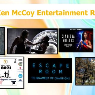 KMER-73 - McCoy shows mindfulness through water spout video