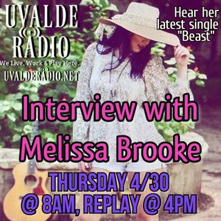 Melissa Brooke Interview 4/30/20