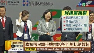 17:19 【台語新聞】被問初選若輸是否挺賴? 總統:我會贏 ( 2019-05-30 )