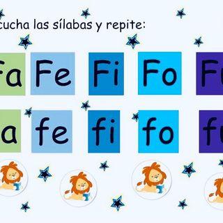 Aprende las Sílabas FA FE FI FO FU