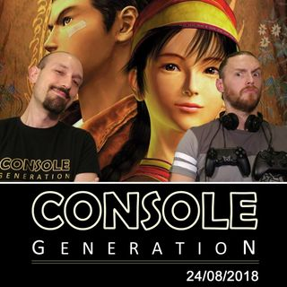 Shenmue I & II HD, Novità dalla Gamescom 2018 e altro! CG Live 24/08/2018