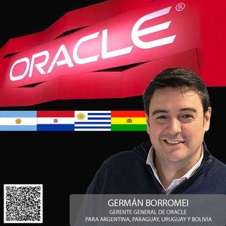 GERMÁN BORROMEI ES EL NUEVO GERENTE GENERAL ORACLE ARGENTINA, BOLIVIA, PARAGUAY Y URUGUAY