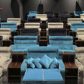 I cinema diventano camere da letto a Zurigo e a Londra spiagge tropicali