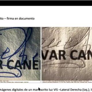 La Prueba Pericial en Documentoscopía con Roberto Moreno Dillon (Sipdo Ecuador)