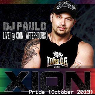 DJ PAULO LIVE! @ XION (AFTERHOURS) Atlanta Pride Oct 2013