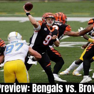 Cincinnati Bengals Weekly Show W/Joe Kelly: Bengals vs Browns Preview