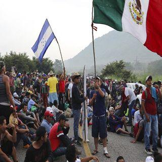 Una nueva caravana de migrantes partió este sábado desde Tapachula, Chiapas hacia el norte del país