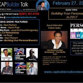 CAPBuilder Talk w/Marc Parham - Building Your Personal Brand in 2017
