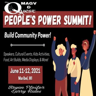 MAGV & The Quest. People's Power Summitt
