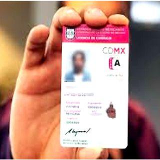 Aumenta de precio la licencia de conducir en la CDMX