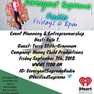 Event Planning & Entrepreneurship Featuring Lue Terry of Honey Child Productions