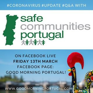 Portugal Coronavirus Update 13-03-20 (For Portugal in English)