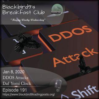 DDOS Attacks Daf Yomi Clock - Blackbird9 Podcast
