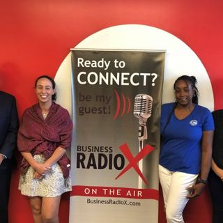 Mahes Prasad with Juncture Wealth Strategies Tearsa Saffell and Ashley Camhi with AZSA and Nika Forte with St Vincent de Paul