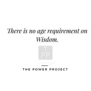 The Power Project Episode #2: Wisdom has no age requirement.  Tips from a YouTube extraordinaire.