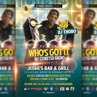 Live from Jessie's with DJ Thoro 8/6/17