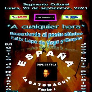 La Gatomaquia - Parte I del poeta clásico español, Felix Lope de Vega y Carpio + Composiciones de José Luis Perales de España.