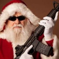 the santa con robbery