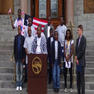 Interview with Thomas S. Nimineh, President of the Liberian Community Syracuse, New York