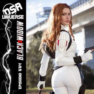 664 - ¿Por qué si es La Viuda Negra, Black Widow se viste de blanco?