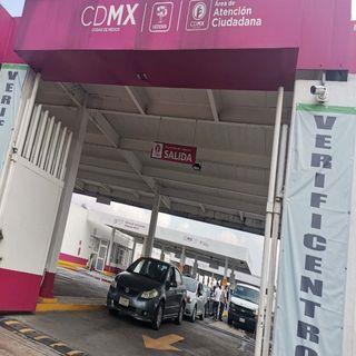 Inició verificación vehicular en CDMX