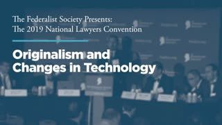 Originalism and Changes in Technology