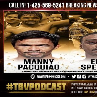 ☎️BREAKING NEWS: Manny Pacquiao vs Errol Spence Jr Listed as 3 Belt Unification On BoxRec😱