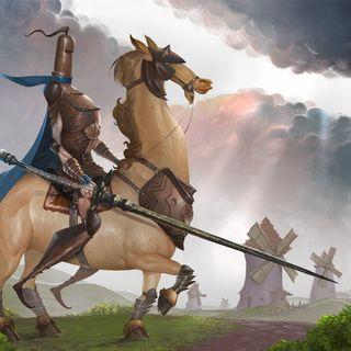 LA AVENTURA DE LOS MOLINOS DE VIENTO ⚔️ El ingenioso Hidaldo Don Quijote de la Mancha 🛡️ Miguel de Cervantes Saavedra