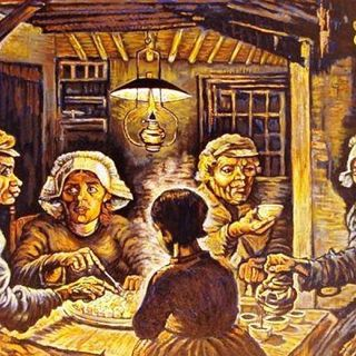 I Mangiatori di Patate Vincent Van Gogh
