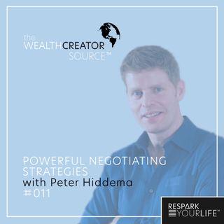 Powerful Negotiating Strategies with Peter Hiddema