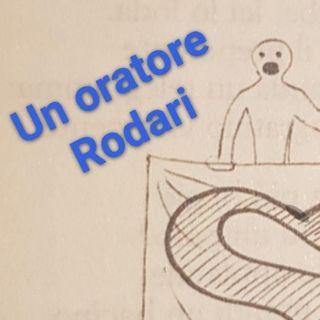 Un oratore - Gianni Rodari