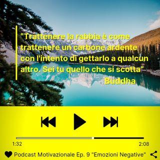 """Podcast Motivazionale Ep. 9: """"Emozioni Negative"""""""