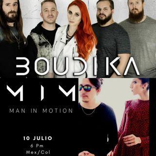 Recuerdos de Rock al parque 25 años junto a la banda mexicana 'Man In Motion' y Boudika de Argentina
