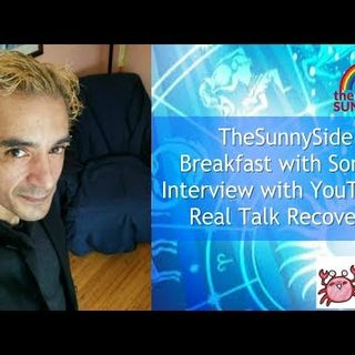 Interview with YouTuber & Addiction Recovery Supporter - Real_Talk_Recovery! Live @ 12.30