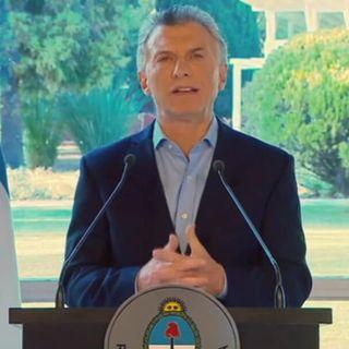 Macri anuncia medidas ante desplome de su moneda