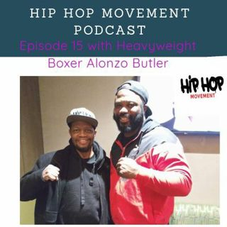 Episode 15 - Heavyweight Boxer Alonzo Butler Training for his Dec 2020 Bout