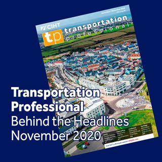Transporation Professional Behind the Headlines - November 2020