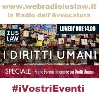 SPECIALE - Primo Forum Itinerante sui Diritti Umani
