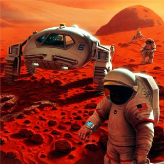 NASA's Red Planet Rick and Putting Humans on Mars