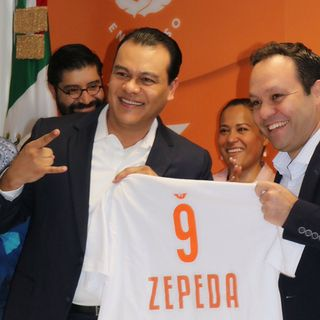 Juan Zepeda se une a Movimiento Ciudadano