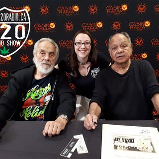 Cheech n Chong chat with Marijane of The 420 Radio Show from Casino Rama - 2018