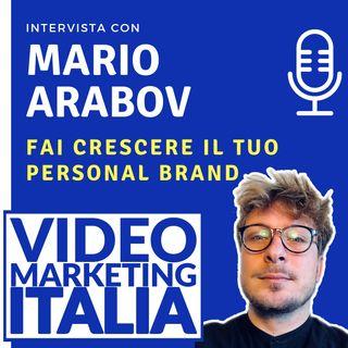 Mario Arabov - Fai crescere il tuo personal brand con lama-app - VMI013