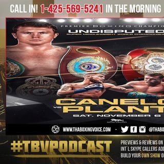 """☎️Canelo On Andre Ward Training Caleb Plant: """"They Both Can Get in The Ring, NO problem""""😱"""
