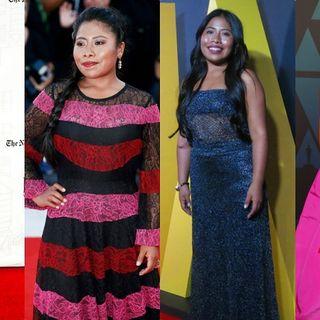 Yalitza Aparicio is nominated for an Oscar.