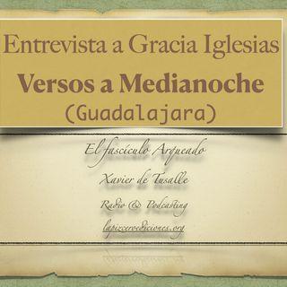 """Entrevista a Gracia Iglesias, """"Versos a Medianoche"""" (Guadalajara)"""