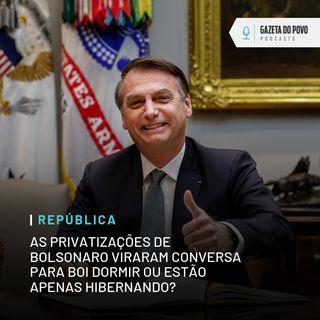 As privatizações de Bolsonaro viraram conversa para boi dormir ou estão hibernando? Achamos a reposta!