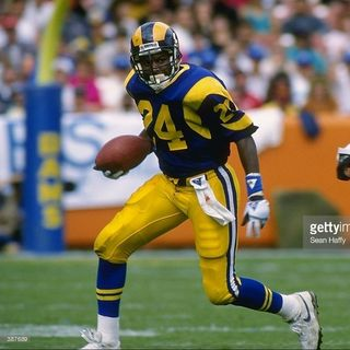 Former Chargers and Rams Running Back Buford McGee