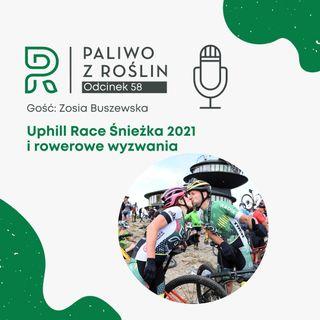 #58 Uphill Race Śnieżka 2021 i rowerowe wyzwania | Radek Krzesa Nie Hamuj