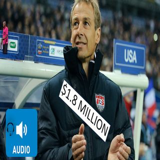 Jurgen Klinsmann paid 1.8 million for doing nothing and US Soccer is to blame